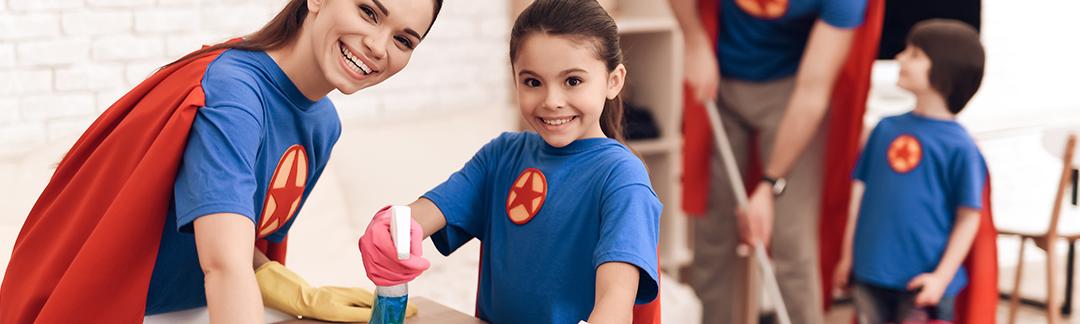 Ménage du printemps : 6 astuces pour faire un bon travail d'équipe